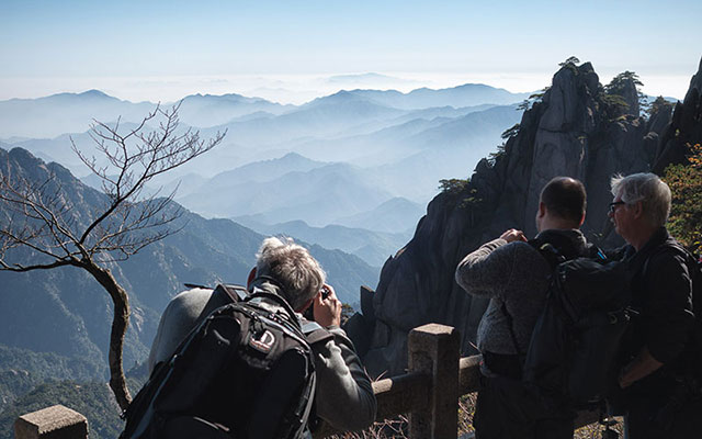Charles Borsboom - Yellow Mountains - China
